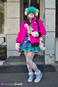 130127-3813: Japanese street fashion in Harajuku, Tokyo.