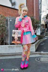 130127-3949: Japanese street fashion in Harajuku, Tokyo.