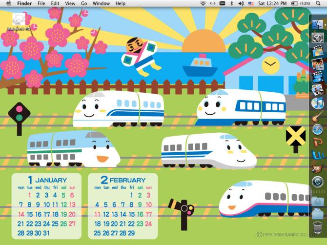 Sanrio_Shinkansen_Desktop_by_natarii_atomu
