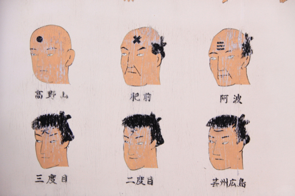 Face Tattoos of Edo Japan