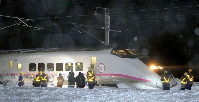 shinkansen train derail