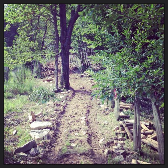 takeda castle trail