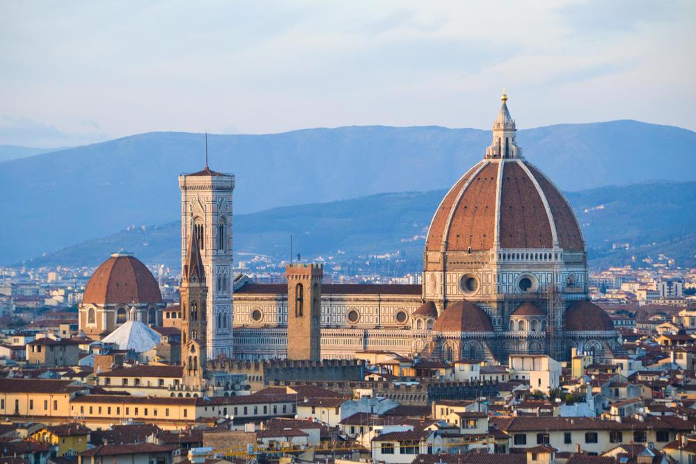 Florence Dome: Duomo Cathedral Of Santa Maria Del Fiore